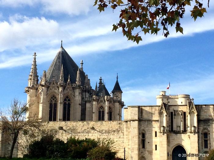 Chateau de Vincenne駅のすぐそばにあるヴァンセンヌ城
